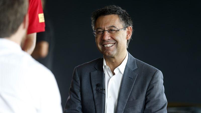 El presidente del FC Barcelona repasa la actualidad de su equipo. / ep