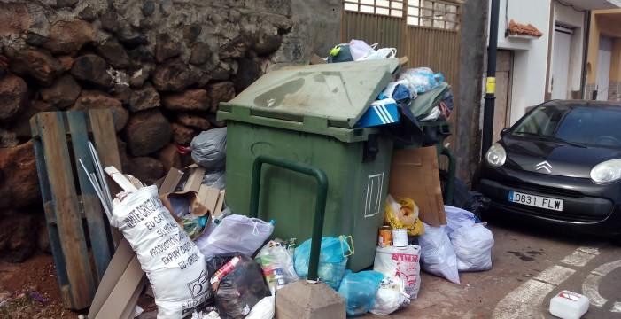 La huelga de basura cumple con los servicios mínimos en su segunda jornada