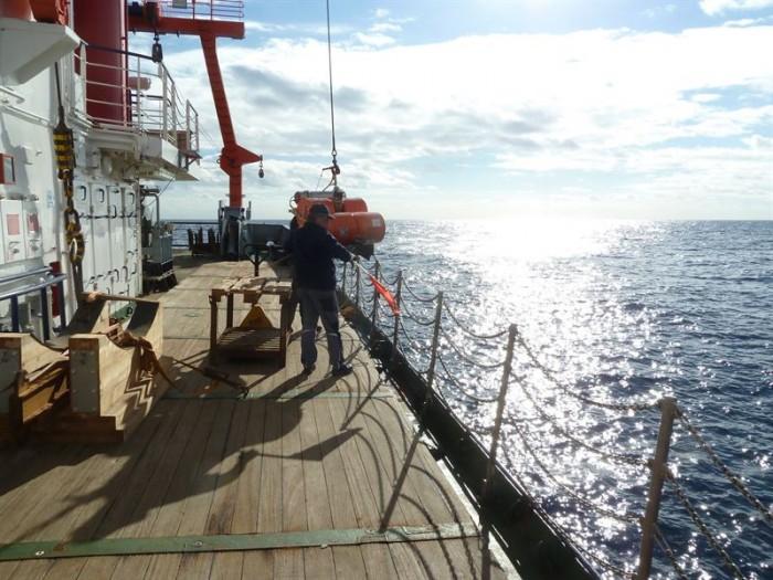 El buque 'Poseidón'. | CEDIDA