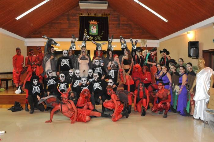 Las Burras, en la Casa de la Cultura de Güímar / DA
