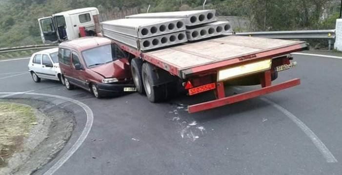 Cinco heridos, dos de ellos graves, en las carreteras tinerfeñas