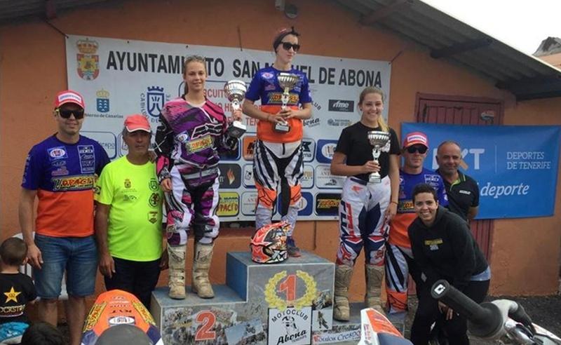 campeonato regional motocross podio