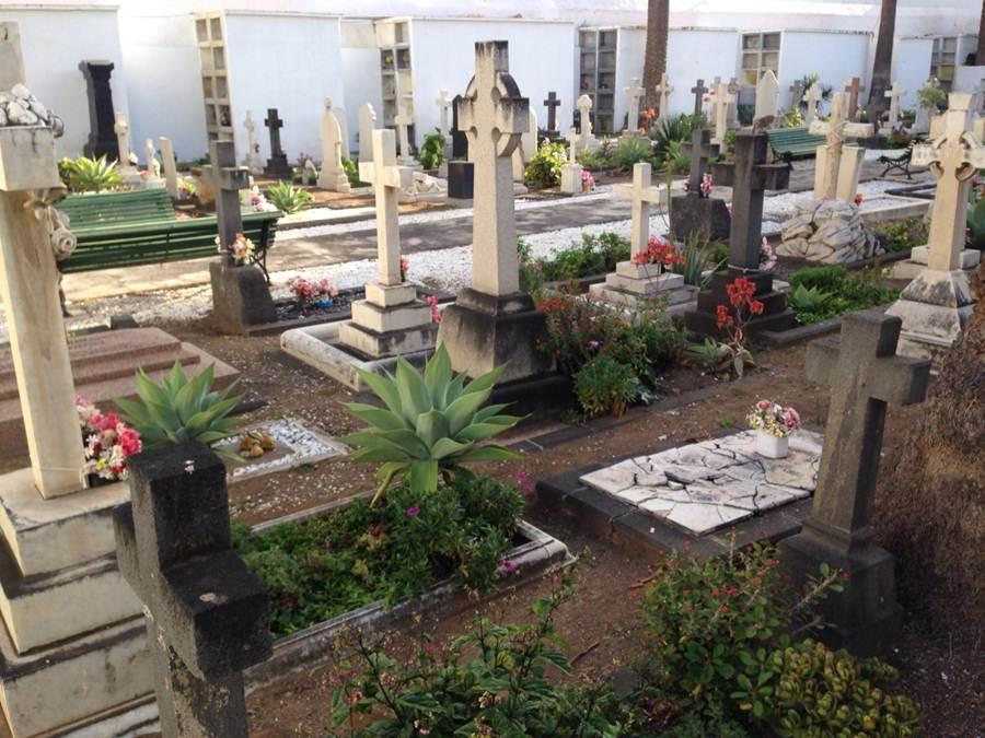 El cementerio inglés. | DA