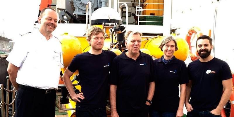Dos científicos españoles bajarán con un submarino hasta el volcán de El Hierro en una expedición alemana