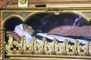 El cuerpo de Sor María de Jesús, que se considera incorrupto. / S. M.