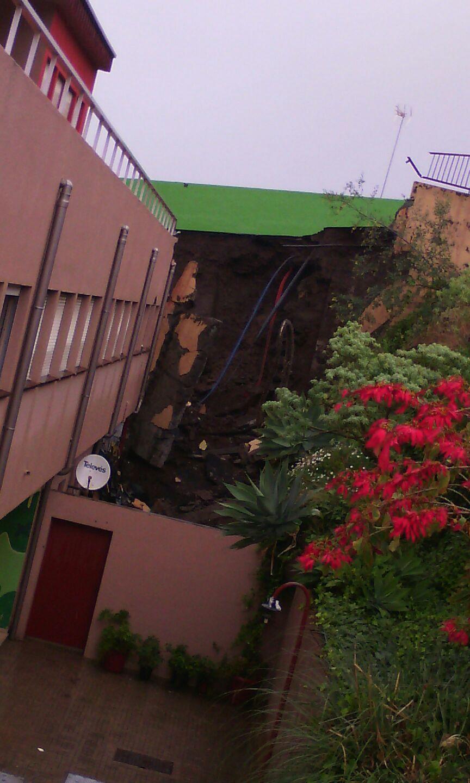Imágenes del colegio de La Victoria. / DA