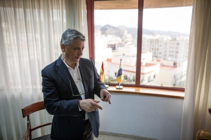 Néstor Hernández, comisionado para la Inclusión Social y Lucha contra la pobreza. / ANDRÉS GUTIÉRREZ