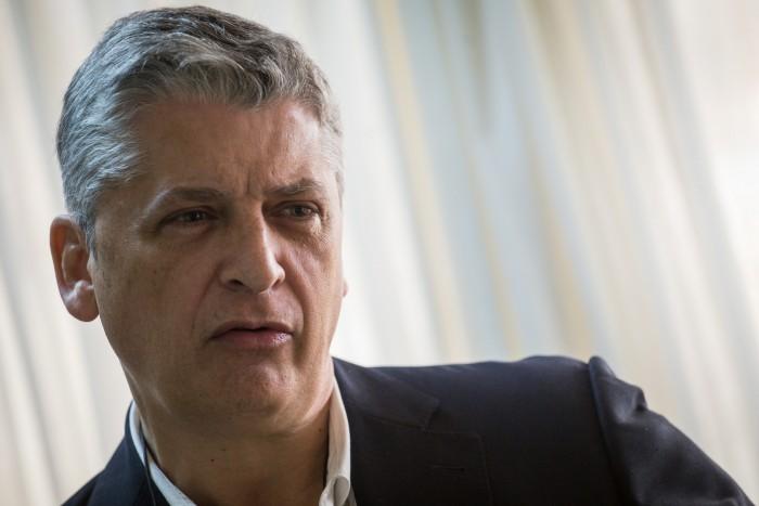 Néstor Hernández, comisionado del Gobierno canario para la Inclusión Social y Lucha contra la pobreza. / ANDRÉS GUTIÉRREZ