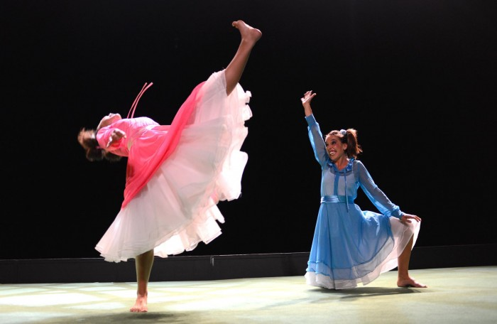 Espectáculo de danza celebrado en el Auditorio de Tenerife. / DA