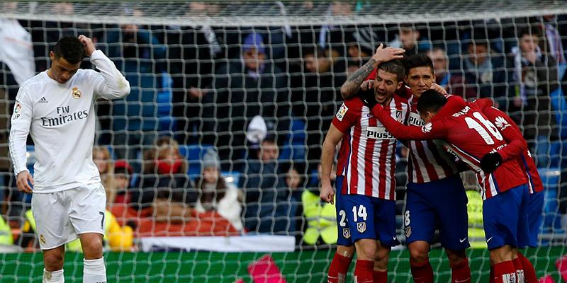 Crónica del Real Madrid - Atlético, 0-1