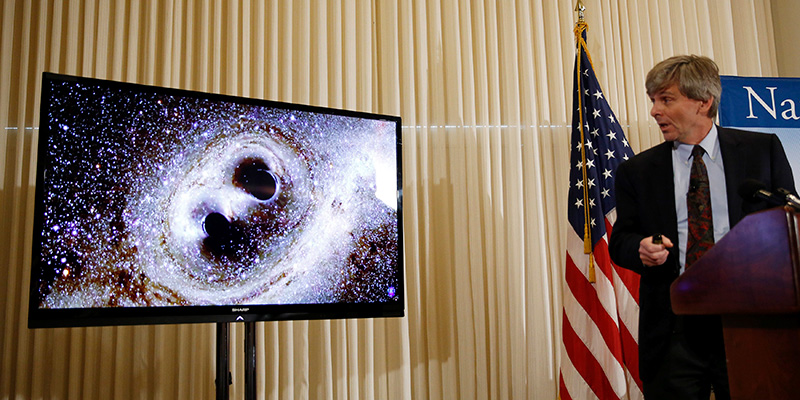 El director ejecutivo del Observatorio de Ondas Gravitacionales con Interferómetro (LIGO), David Reitze. / REUTERS