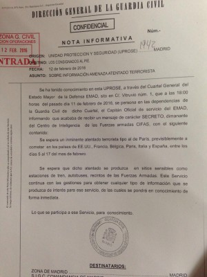 DOCUMENTO GUARDIA CIVIL ALERTA TERRORISTA