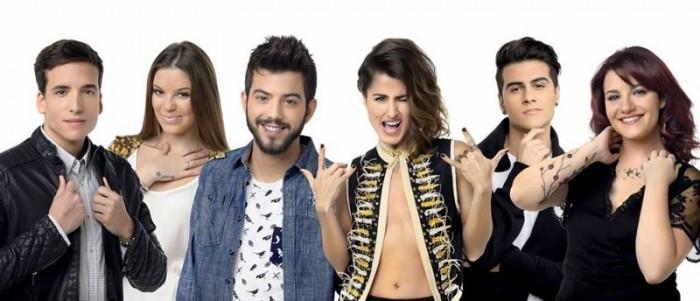 Candidatos a representar a España en Eurovisión. / EP