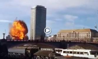 Una explosión durante el rodaje de una película de Jackie Chan provoca pánico en Londres