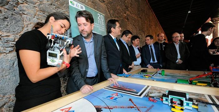 43 equipos compiten en Tenerife en la First Lego League de Canarias