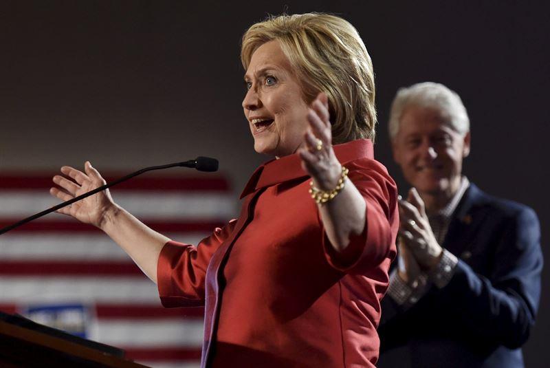 Hillary Clinton gana las primarias en Carolina del Sur