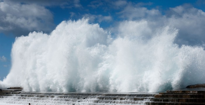 Dos empresas se disputan el estudio para reparar el dique de Bajamar