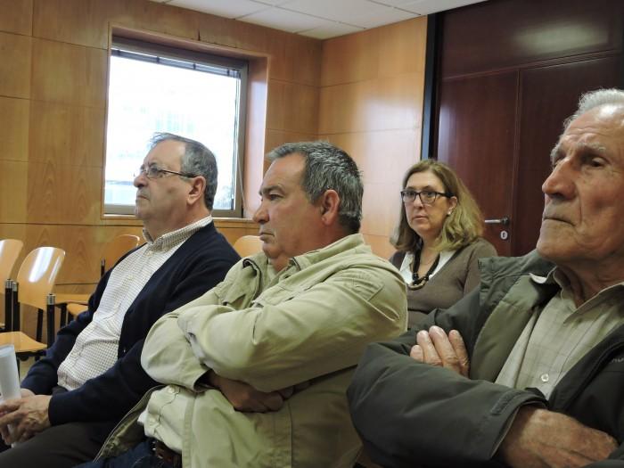 Rigoberto González, Francisco Hernández y Segundo Jorge, tres de los testigos / NORCHI