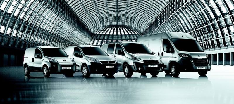 gama de vehículos comerciales Peugeot