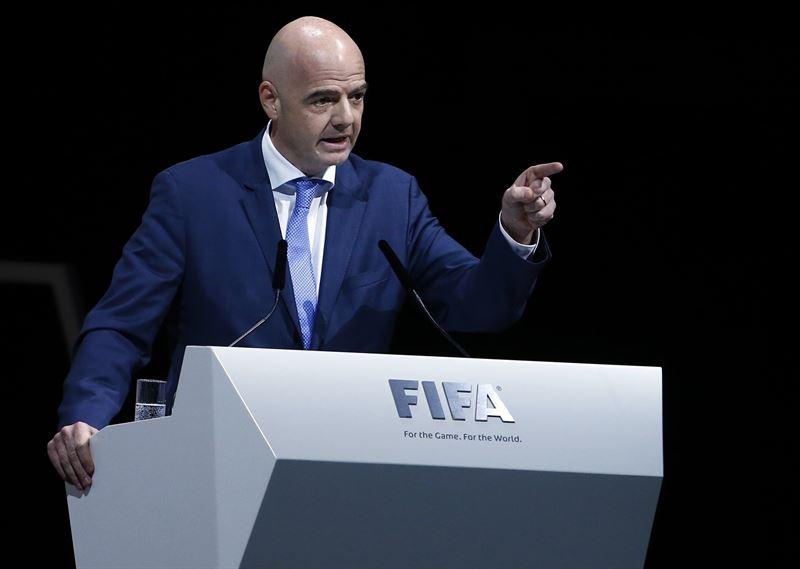 El nuevo presidente de la FIFA. / ep