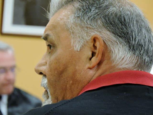José Luis Reverón Acosta, durante su declaración / NORCHi