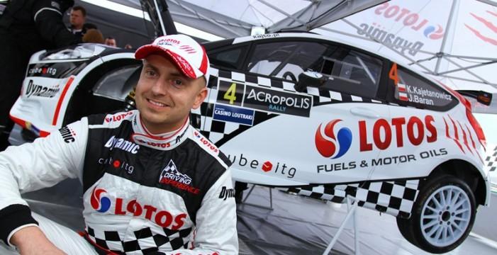 El polaco piloto Kajetanowicz lucirá el número 1 en el Rally Islas Canarias