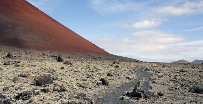 Investigan la importancia de Lanzarote para comprender los procesos geológicos desarrollados en Marte