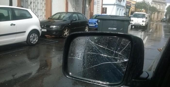 Todas las imágenes del temporal de hoy en Canarias