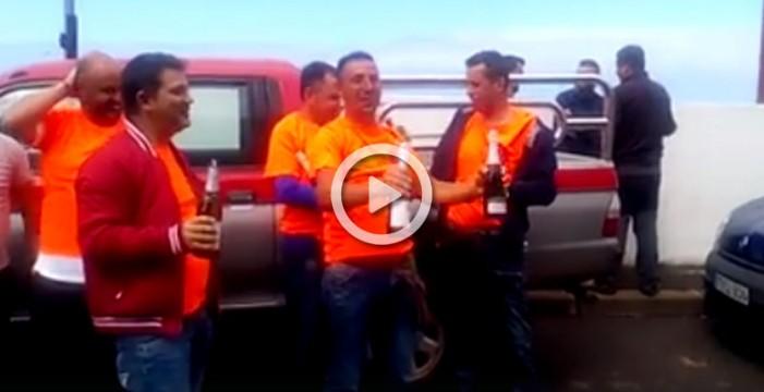 La lotería toca en la comisión de fiestas de Icod el Alto