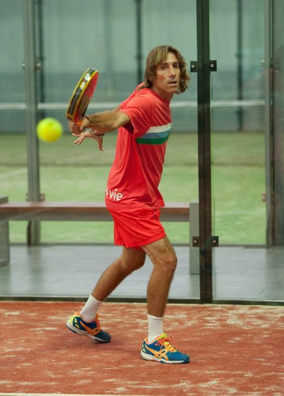 Mariano Córdoba estará en los dos torneos que se celebrarán este mes en Tenerife. / SERGIO MÉNDEZ