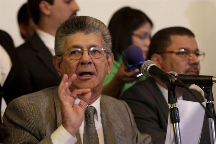 El presidente de la Asamblea Nacional de Venezuela, Henry Ramos Allup. /  MARCO BELLO / REUTERS