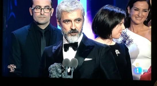 Dos Premios Goya para tres canarios