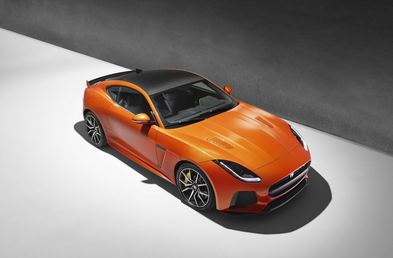 nuevo Jaguar F-TYPE SVR 1