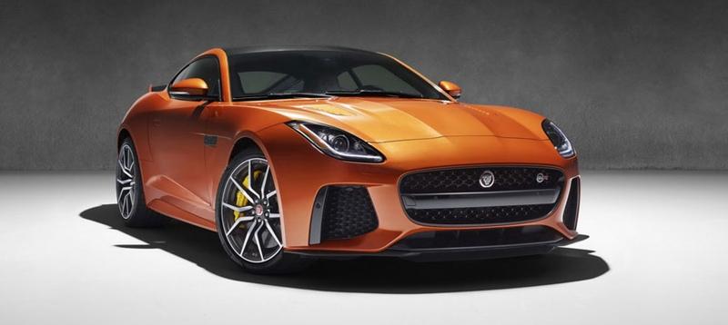 nuevo Jaguar F-TYPE SVR