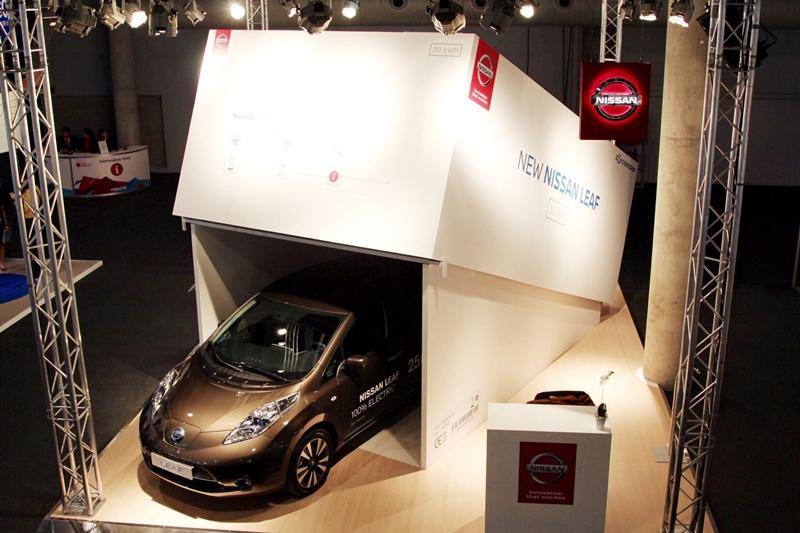La tercera generación del LEAF se ha lanzado con una autonomía de hasta 250 km, la mejor de su clase, junto con toda una serie de nuevos servicios de conectividad a través del nuevo NissanConnect EV . | DA