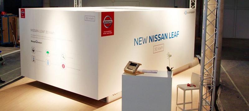 El nuevo sistema telemático NissanConnect EV está a la vanguardia de la accesibilidad en cuanto a tecnología integrada en el coche. | DA