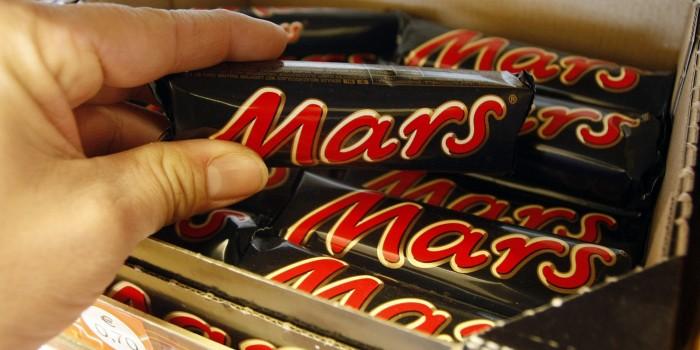 Chocolatinas Mars. / CEDIDA