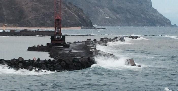 El viento fuerte llega hoy a La Palma
