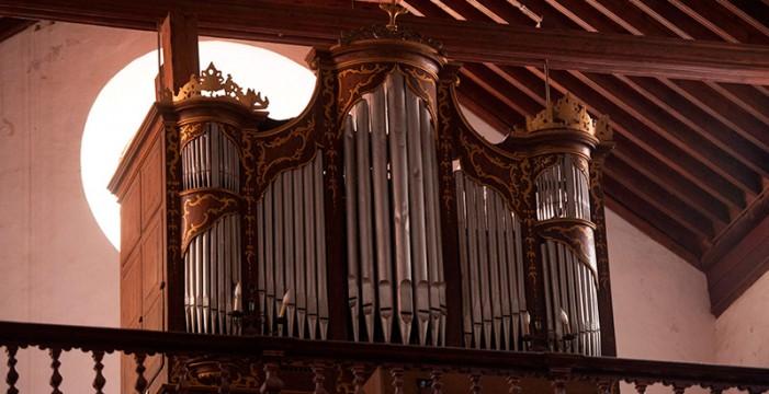 El patrimonio más musical de los templos