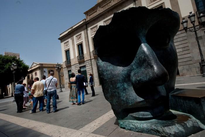 El teatro Guimerá es una de las propiedades del Ayuntamiento de Santa Cruz. / F. P.