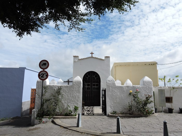 La capilla donde se alberga al Cristo Negro en San Juan / NORCHI