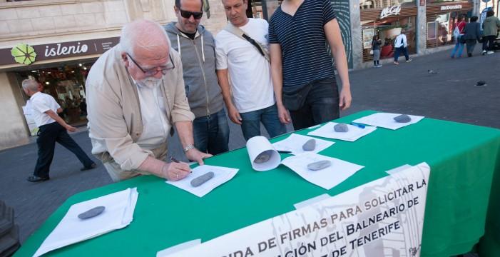 Más de 2.000 firmas avalan ya la rehabilitación del Balneario