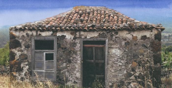 Recogen firmas para pedir que se pretejan por ley las casas terreras tradicionales canarias