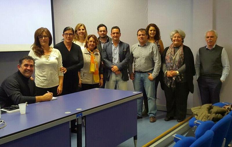 La reunión estuvo presidida por el director general de Patrimonio Cultural, Miguel Ángel Clavijo. / DA