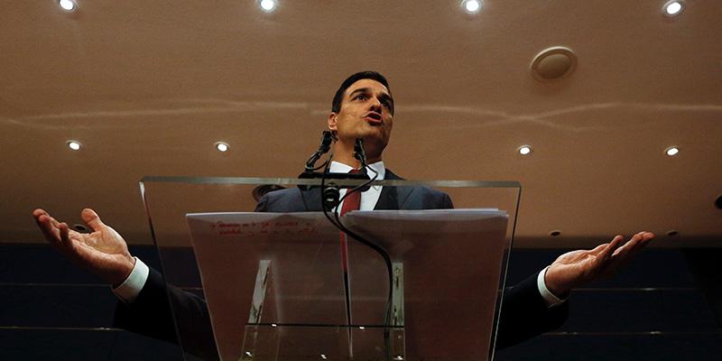 Pedro Sánchez empieza hoy con CC e IU las conversaciones para intentar formar gobierno