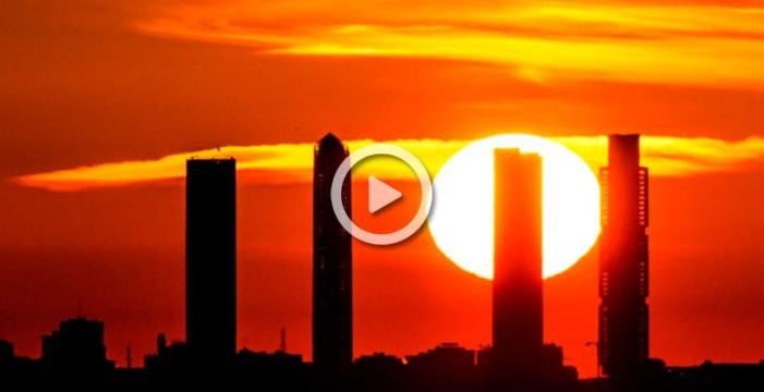 El cielo de Madrid, como nunca antes lo habías visto