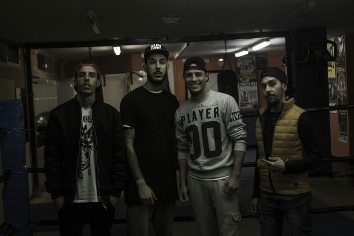 En la imagen, SDS, Perro Flaco, King Daluz y JMAN. /DA