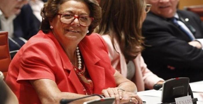 El juzgado de Valencia inicia los trámites para investigar a Rita Barberá