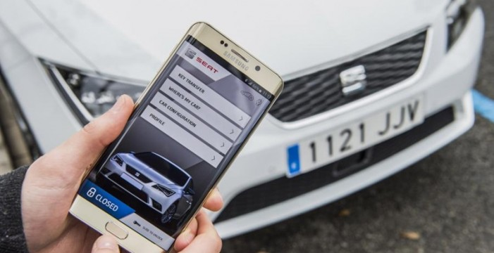 """SEAT, SAMSUNG y SAP se alían para desarrollar el """"coche conectado"""" del futuro"""