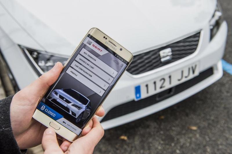 seat coche inteligente llave digital